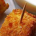 Miss tiny fête la chandeleur à sa façon: roulés de crêpe panés à l'alsacienne et son dip à la moutarde douce