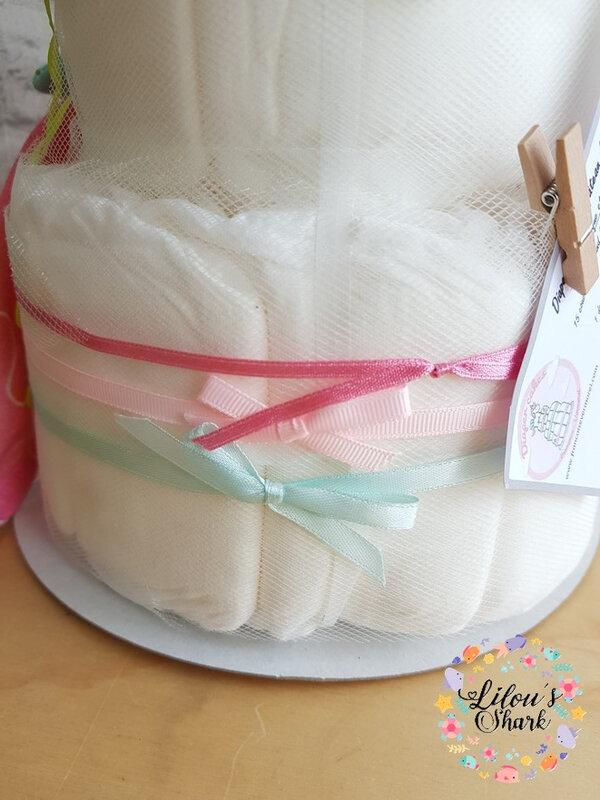 diaper cake mermaid francoise vermorel 12