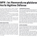 Lnpn: les normands sans defense...