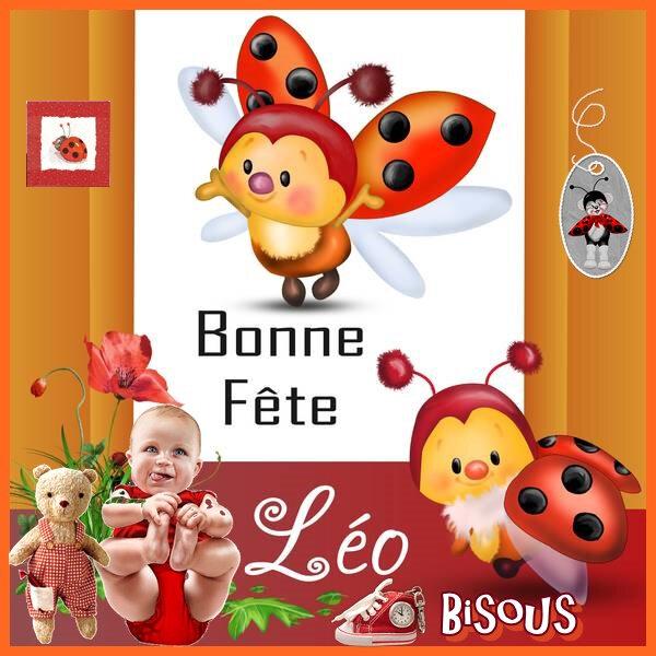 Bonne Fête Léo 19 Avril 20220