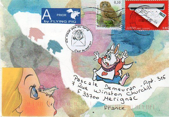 Mailart de Piggy 070