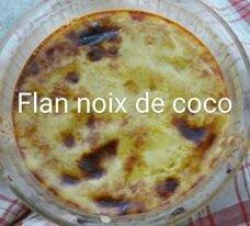 Flan noix de Coco