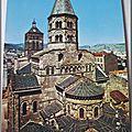 Clermont Ferrand - Eglise Notre Dame du port - le chevet