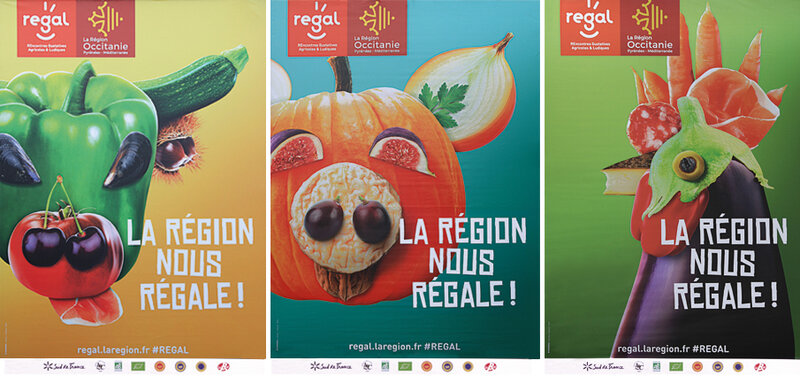 SALON_REGAL_Affiches_vache_veau_coq