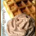 Gaufre et sa chantilly au nutella