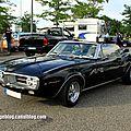 Pontiac firebird convertible de 1967 (rencard burger king juillet 2012)