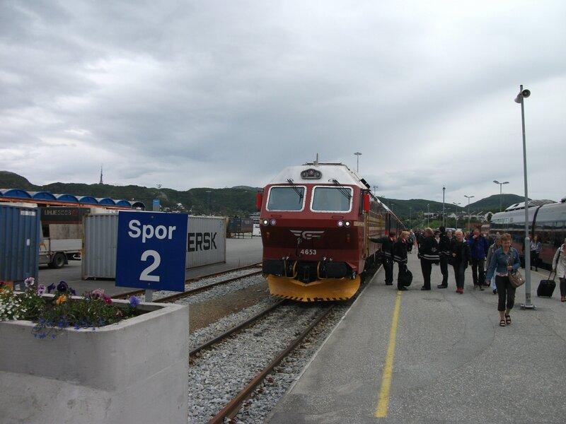 Gare de Bodø