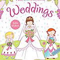First colouring book : weddings