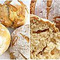 Vite des petits pains pour le petit déjeuner!