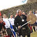 Le chieftain ouvre les Jeux