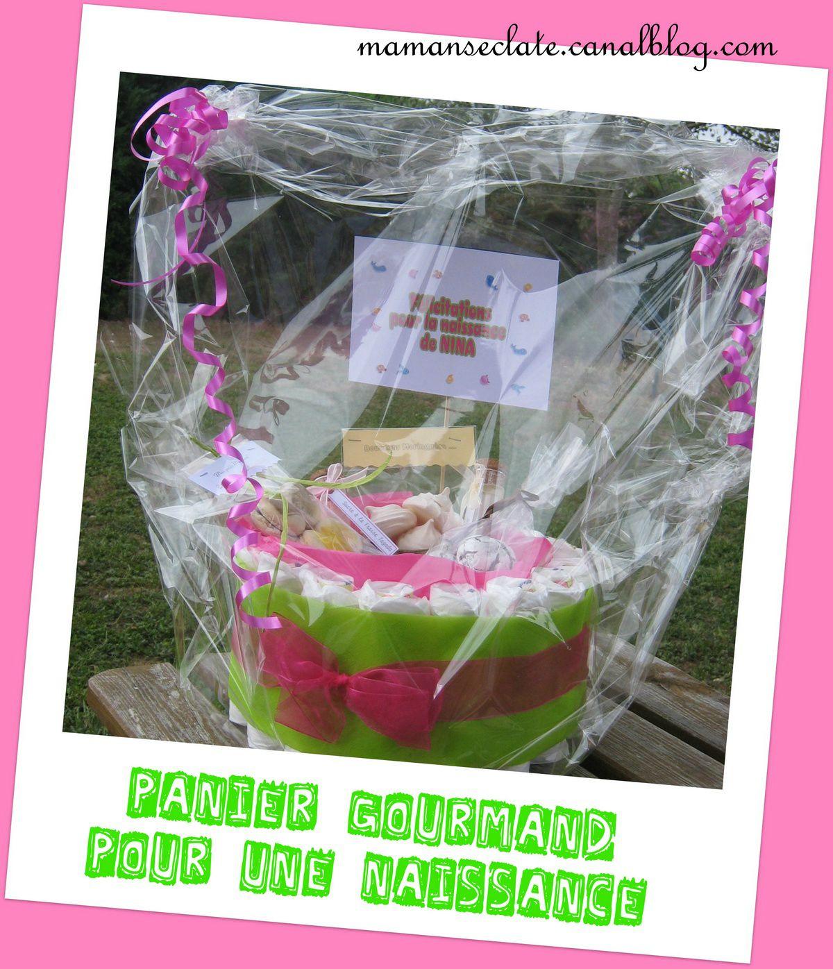 Qu Offrir Pour Une Naissance panier gourmand = cadeau pour une naissance - maman s'éclate !