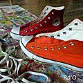 Mes pieds bicolor