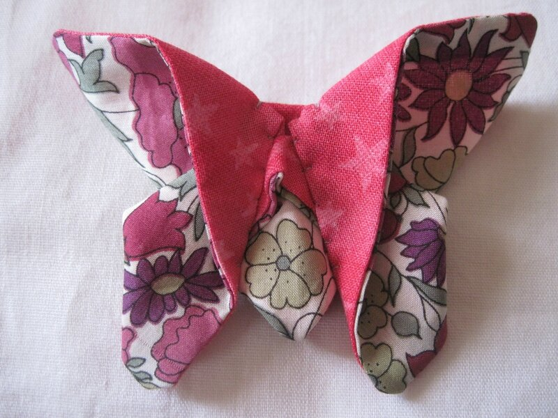 broche papillon Milid