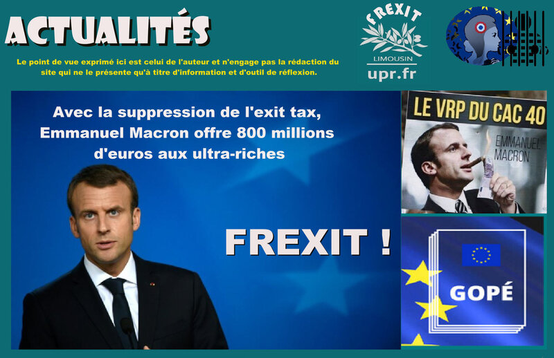 ACT EXIT TAXE