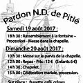 Pardon nd pitié 2017