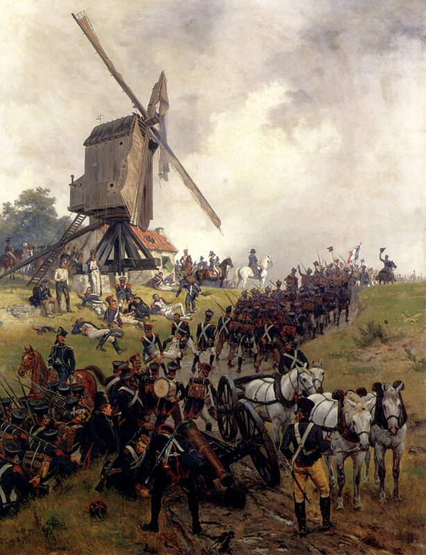 Crofts_Ernest_The_Battle_Of_Waterloo