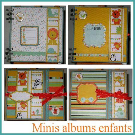 minis albums enfants