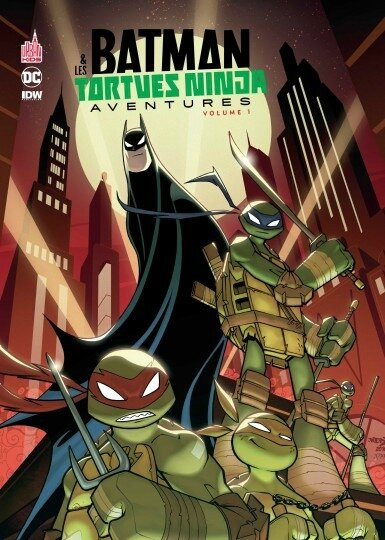 batman tortues ninjas aventures 01