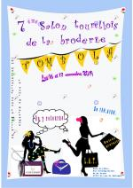 La tour de Salvagny-salon tourellois de la broderie 2019