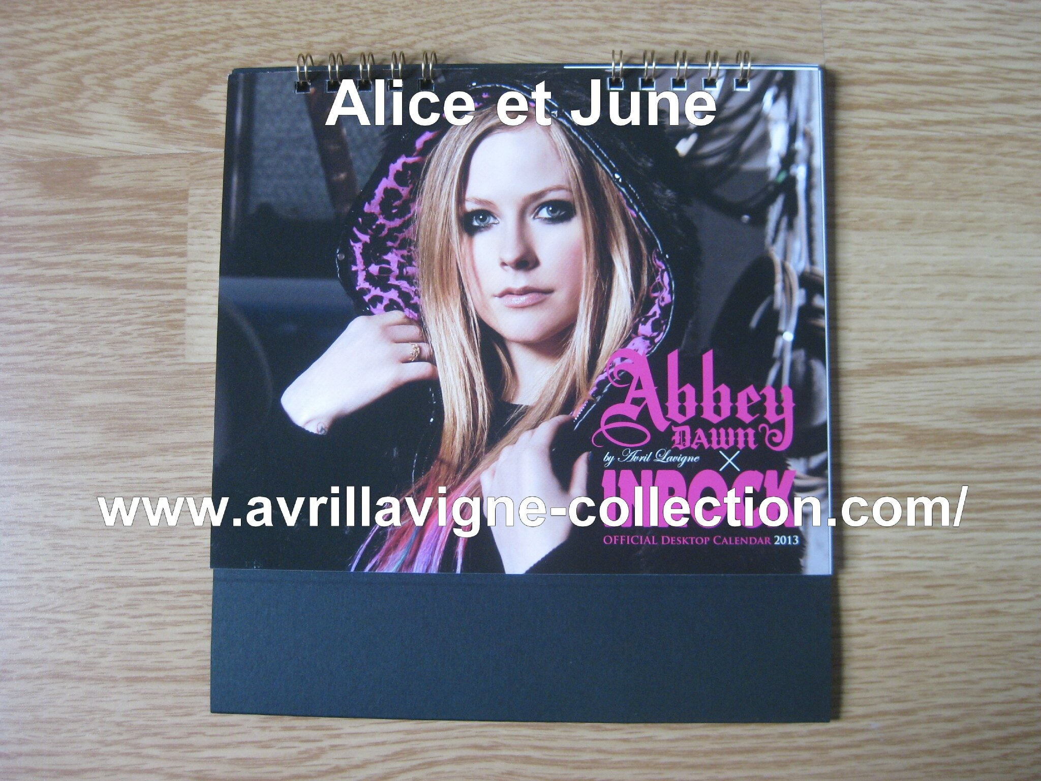 Abbey Dawn x In Rock calendrier-Japon (2012/2013)
