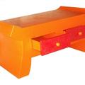 table basse orange pop