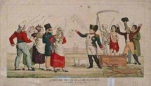 Napoléon arrive aux Tuileries