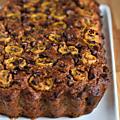 Cake santé banane & pépites de chocolat