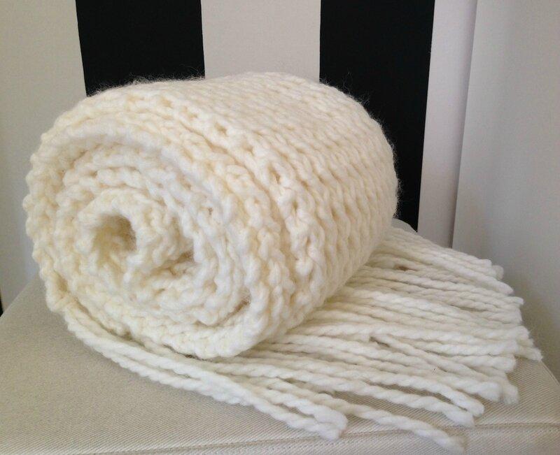 écharpe blanche 8