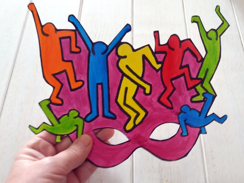 350-MASQUES-Masque Keith Haring (22)