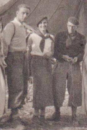1935-Pentecôte,AYACHI(3800m),M et Mme Stambach, P