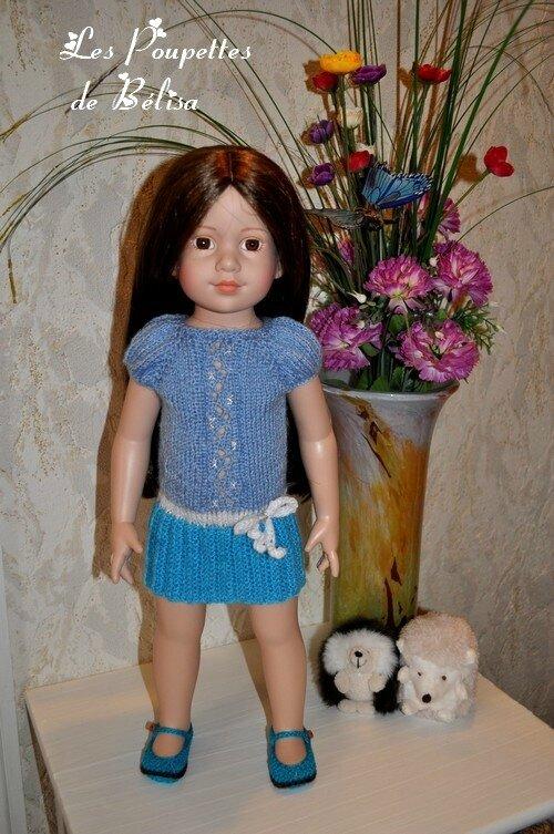 Cela est utile d'avoir des poupées de tailles différentes...
