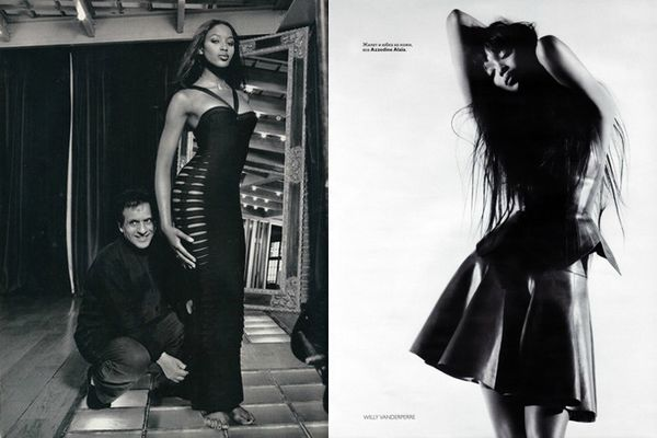 Naomi-Campbell-wearing-Azzedine-Alaïa-dress-by-Willy-Vanderperre-vogue
