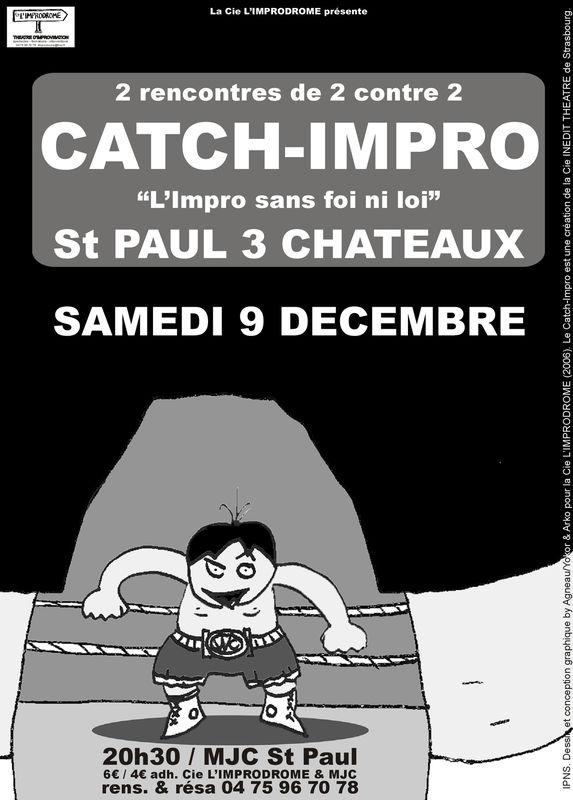 Affiche Catch-Impro 09