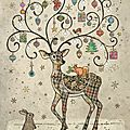 DC023-Decorated-Deer-400x561