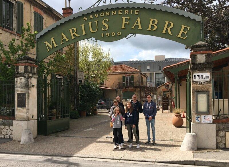 savonnerie Fabre Salon de provence