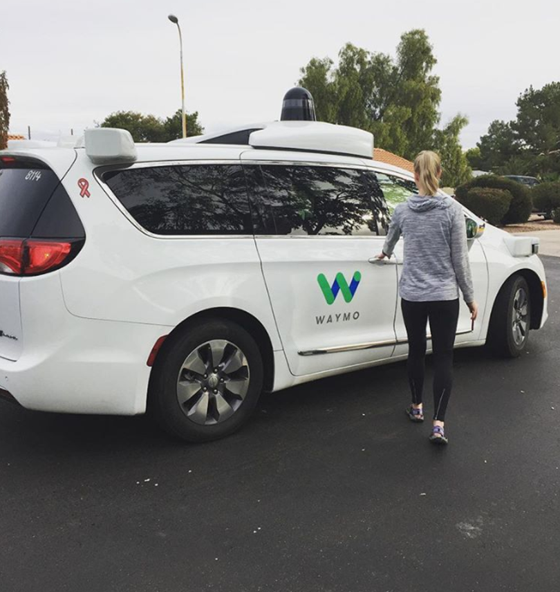We spoke to a Waymo One customer about how robot taxis get
