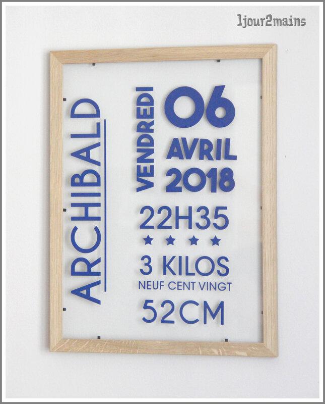cadre archibald