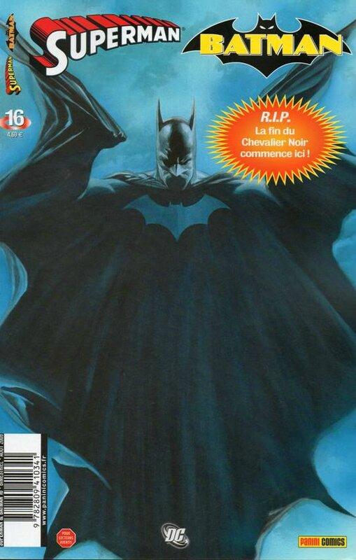 panini superman batman 16