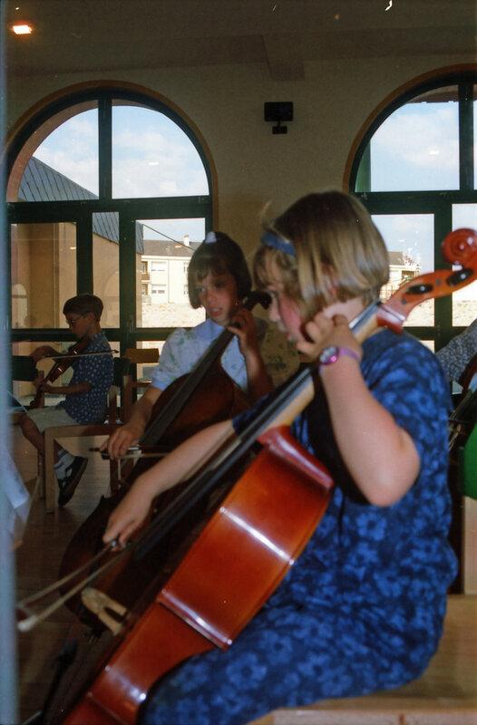 P 95 20 Stage de violon à Sablé - La Cantonade - Fête de l'école St-Exupéry 10