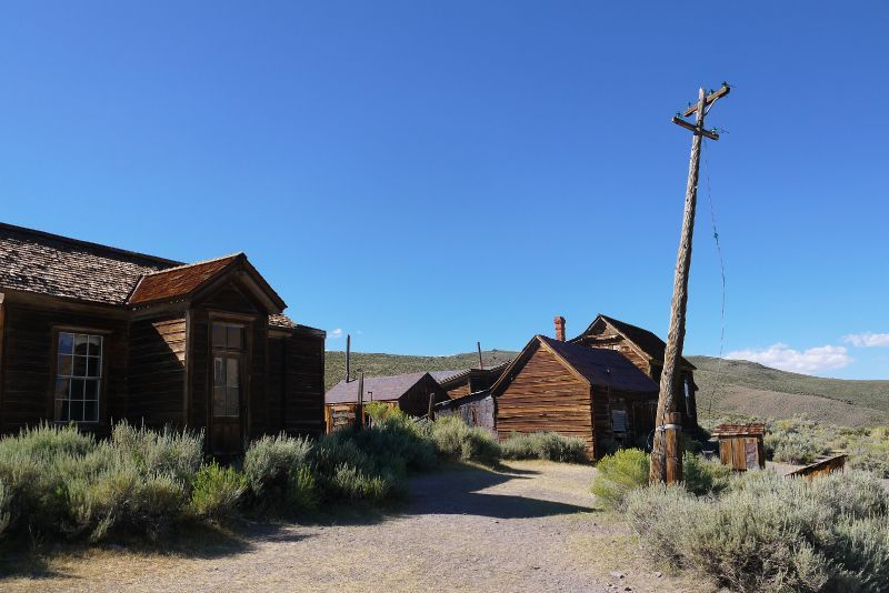 Bodie Ghost Town en Californie aux USA