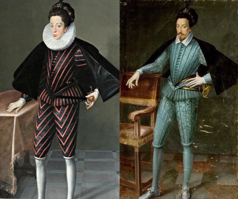 Portraits de princes de France et de Lorraine