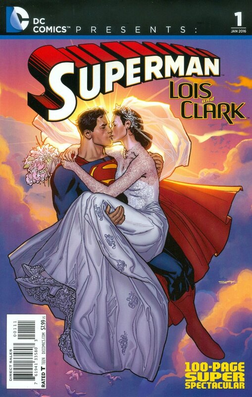 dc comics presents superman lois & clark