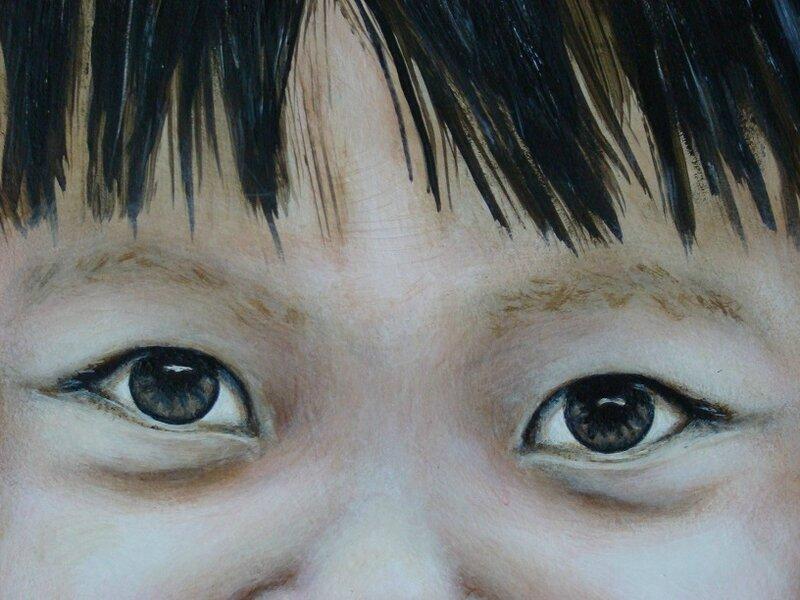 """Tableau d'une jeune thaïlandaise: """"TAQUINE"""""""
