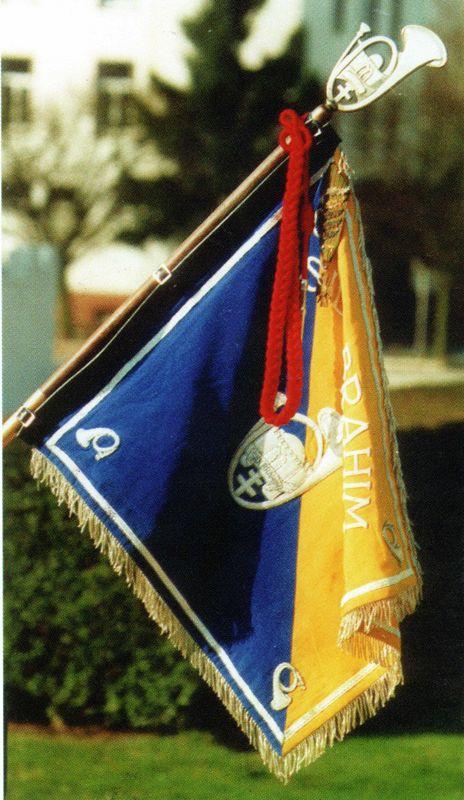 Le fanion du Bataillon de SIDI-BRAHIM