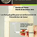 Les français et la fumée de tabac: résultat du sondage harris interactive (dnf)