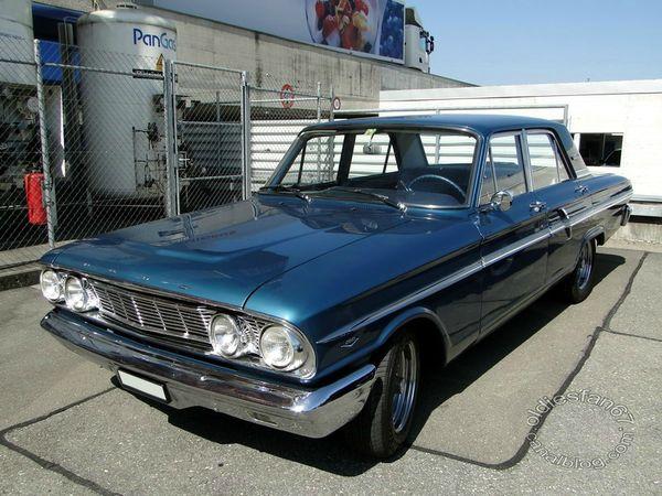 ford fairlane 500 4door sedan 1964 a