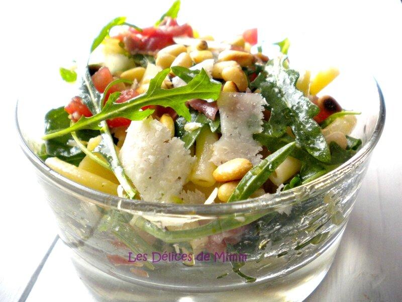 Salade de pâtes à l'italienne 3