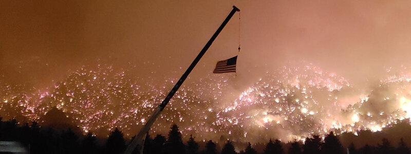 états unis en proie à 60 incendies