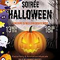 La soirée d'halloween : mardi 13 novembre !