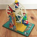1 roue musicale fisher price